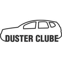 Adesivo Decorativo Parabrisa Carro Club - Clube Duster