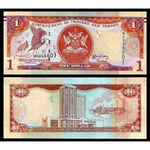Trinidad & Tobago P-new Fe 1 Dollar 2006 2014 Novo Design