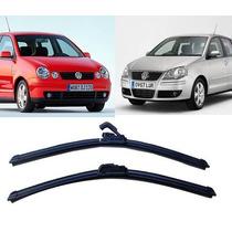 Kit Palhetas Silicone Dianteira Polo Hatch/sedan 2002 A 2010
