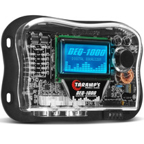 Equalizador Taramps Deq-1000 Gráfico Digital Lcd 15 Bandas