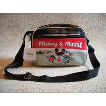 Bolsa Disney Mickey E Minnie 100% Original E Importada