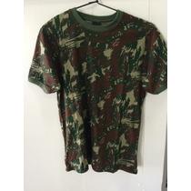 Camiseta Camuflada Exército Com Nome Bordado - Tipo Dryfit