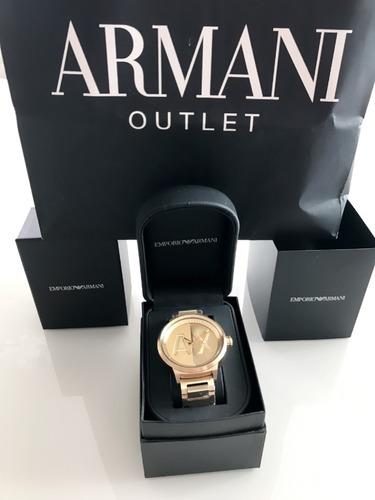 9a3e96d8d6e Relógio Armani Exchange Masculino Quartz Ax1363 4dn Dourado - R  899 ...