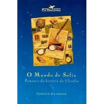 Livros - O Mundo De Sofia - Jostein Gaarder