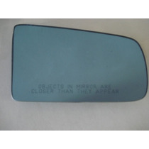 Lente C/base Do Retrovisor Azul Chevette 1987 Até 1993