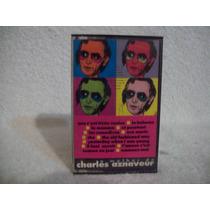 Fita K7 Charles Aznavour- O Melhor De Charles Aznavour