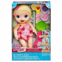 Boneca Baby Alive Lanchinhos Divertidosb5013 Hasbro Original