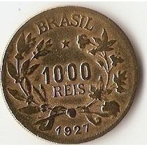Moeda De 1000 Reis 1927 Usada
