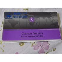 Manual Do Proprietário Chrysler Stratus
