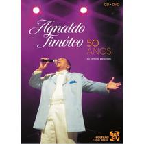 Dvd+cd Agnaldo Timóteo - 50 Anos Na Estrada Alfalta (988905)