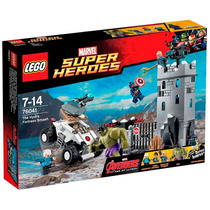 Novo Lego Super Heroes The Hydra Fortress Smash 76041