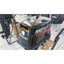 Motor De Popa Mercury 8.0 Hp - Novo 2016 - Náutica Paraná