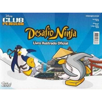 Desafio Ninja Club Penguim Album Completo Figurinhas / Cards
