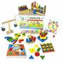 Maleta Pedagogica 10 Jogos Educativos Em Mdf 1242 Carlu