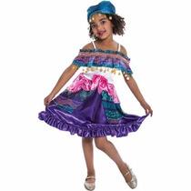 Fantasia Infantil Cigana Ciganinha 8 Anos Frete Grátis
