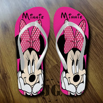 Chinelo Personalizado,minnie,the Walking Dead,minions,mickey