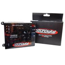 Módulo Soundigital Sd400.1d - 1 Canal Mono/stereo 400w Rms