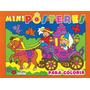 Livro - Mini Poster Para Colorir/girassol
