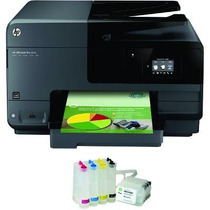 Multifuncional Hp Pro 8610 + Bulk Ink + 500ml Tinta De Brind