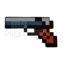 Pistola De Pedra Minecraft Arma Revolver Game Jogo Inmetro