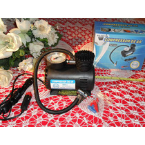 Mini Compressor De Ar Automotivo 12v 300 Psi !! 12v !! Novo