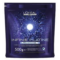 Loreal Descolorante Infinie Platine Pró-queratina 500g