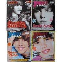 Kit De Revistas Do Justin Bieber - N°01 - Imperdível !!!