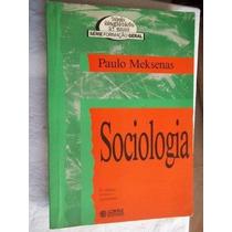 Sociologia - Paulo Mek Senas - Pedagogia