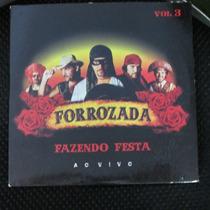 Cd Forrozada Forrozada Vol 3 Ao Vivo