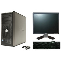 Computador Dell Optiplex 760 Core2duo Com Monitor Dell 17