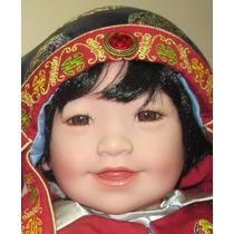 Kwan Boneco Bebê Asiático Adora Dolls Realista Tipo Reborn