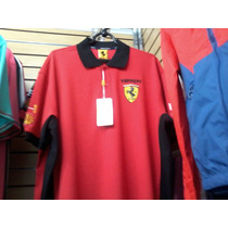 Camisa Polo Ferrari Cod 029 Frete Grátis