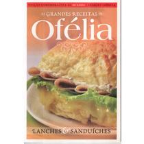 Livro As Grandes Receitas Lanches E Sanduiches