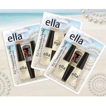 3 Kits Esmalte Francesinha Pérola - Ella Fashion