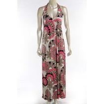 Vestido Longo Estampado Ref.: 5018