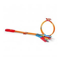 Super Pista Loop & Launch Hot Wheels Fnt