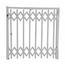 Grade De Proteção Portãozinho Sanfonada Alumínio