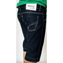 Shorts Masculino Jeans Bermuda Patrão Jean$