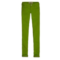Calça Hollister By Abercrombie Women Jegging Verde