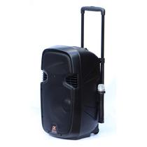 Caixa De Som Ativa Amplificada X Lounge 12` Bateria 500w Rms