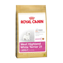 Ração Royal Canin West Highland White Terrier 21 Adult –