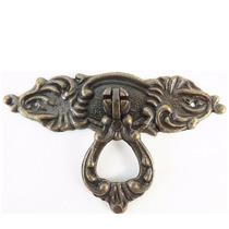 Puxador Colonial Bronze Cristaleira Porta Gaveta Luiz Xv
