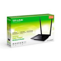 Roteador Tp-link Tl-wr 841 Hp 300mbps C/ Antena De 9dbi