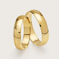 Aliança De Noivado Ou Casamento Em Ouro 18k(750).