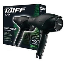 Secador Taiff Black 1700w Profissional