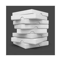 Caixa Pizza Quadrada 15cm - Embalagem 20 Unidades