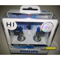 Kit Lampada Original Philips H1 Diamond Vision 5000k
