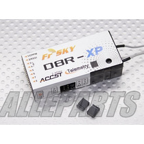 Receptor Frsky D8r-xp 8ch Telemetria Pronta Entrega
