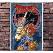 Poster Exclusivo Thundercats - Desenho Retro Tamanho 30x42cm