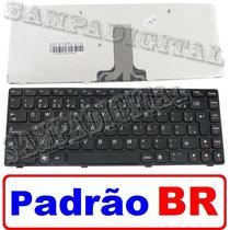Teclado Lenovo G480 G485 Z480 Z485 Pk130n13a20 Novo Original